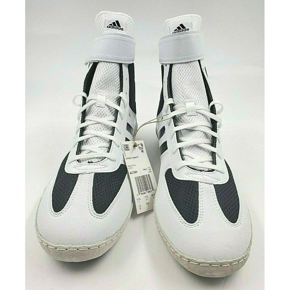 Adidas AC7501 Combat Speed 5 Black White Wrestling